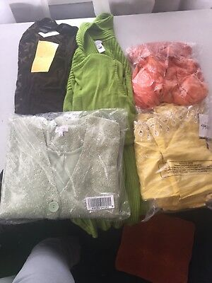 5 Brand New QVC Jacket And Top Sets