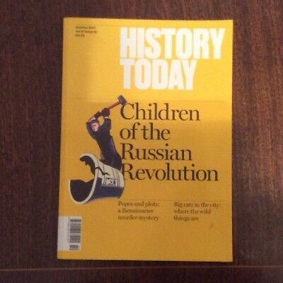 History Today Magazine: October 2017