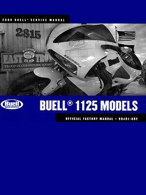 Buell 1125 Models (2009) Service Manual Official Factory Manual