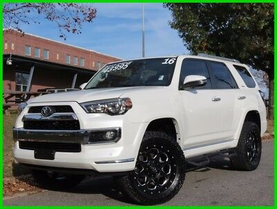 2016 Toyota 4Runner Limited 4.0L V6 AUTOMATIC LIFT KIT FUEL WHEELS NAVIGATION BACKUP CAM HEATED COOLED SEATS