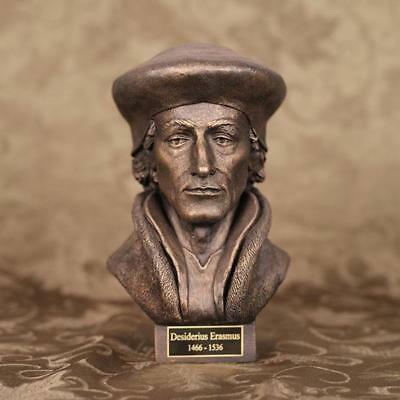 Desiderius Erasmus - Sculpture (table top size)