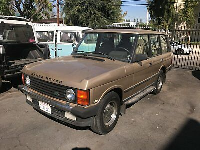 1991 Land Rover Range Rover Classic Land Rover - Range Rover Classic - 4X4 GOLD GREAT CONDITION 76K miles