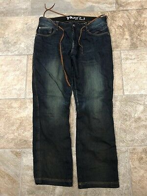 Bull-it covec Motorcycle Jeans Size 36R. Knee Armour Included, VGC
