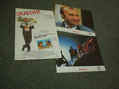 Buster Official Cinema Program Lobby Cards Phil Collins Julie Walters 1988