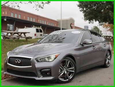2015 Infiniti Q50 Hybrid Premium 3.5L C6 HYBRID AUTOMATIC SUNROOF BACKUP CAMERA LEATHER BOSE PREMIUM AUDIO