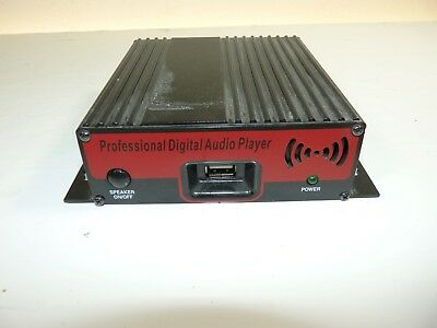 Prodigital Professional Digital Audio Player PD-USB40 On Hold System