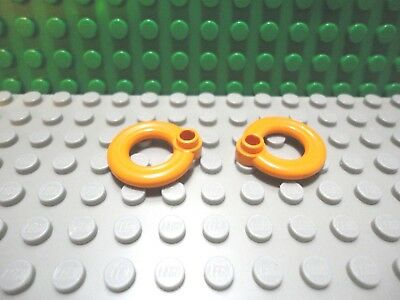 New LEGO Green Minifigure City Beach Life Preserver Ring Accessory