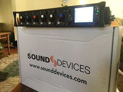 Sound Devices 12-Input 664 Field Production Mixer With 16-Track Recorder