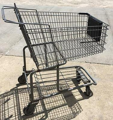 Metal Wire Grocery Shopping Carts