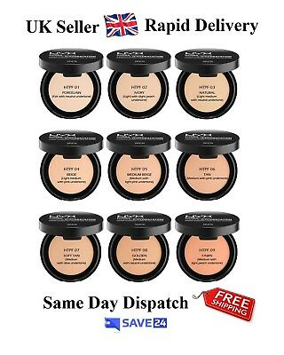 !RRP£8.99! NYX Hydra Touch Powder Foundation, Boxed, Sealed - Choose your shade