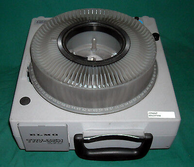 ELMO TRV-35H Slide Projector Transfer S-video BNC with Corded Remote Tested