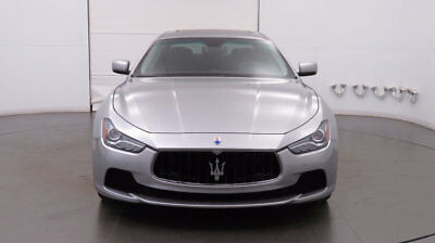 2014 Maserati Ghibli 4dr Sedan S Q4 2014 Maserati Ghibli S- 1 Owner, Low Miles, Grigio/Nero, Warranty until 6/28/18