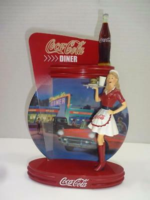 Coca Cola Bradford Exchange 3Rd Issue Coca Cola Time Diner Figurine Plate.