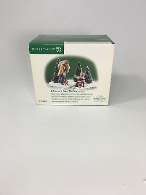 """Department 56 Dickens Village """"A Treasure From The Sea""""  #58461   NEW"""