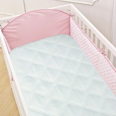 Crib Mattress Pad Cover Waterproof Quilted Soft Comfort For Baby Bed Protection