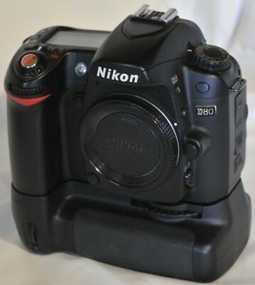 Excellent Condition Nikon D80 With Battery Pack