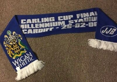 Wigan Athletic Capital One League Cup Final 2006 Scarf