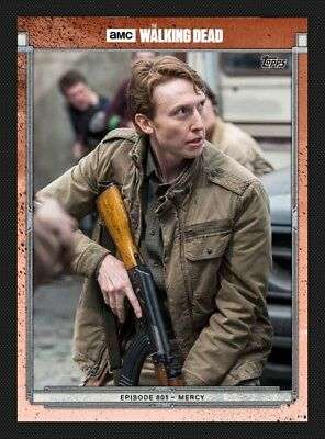 Eric Raleigh-Red-801-Topps Walking Dead Card Trader Digital