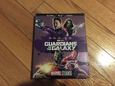 Guardians Of The Galaxy Blu Ray / Digital