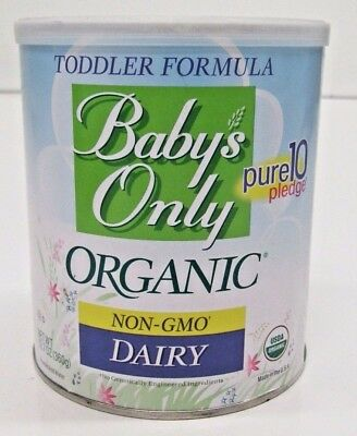 6 Cans of Baby's Only Organic Non-GMO Dairy Toddler Formula - 12.7 oz ea
