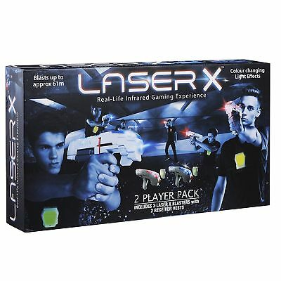 LASER X (laser x) BRAND NEW IN BOX DOUBLE PACK LASER TAG PICK UP WELCOME MELB