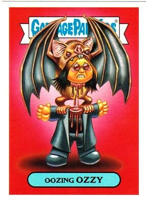 """2017 Garbage Pail Kids Battle of The Bands """"OOZING OZZY"""" Sticker Card"""
