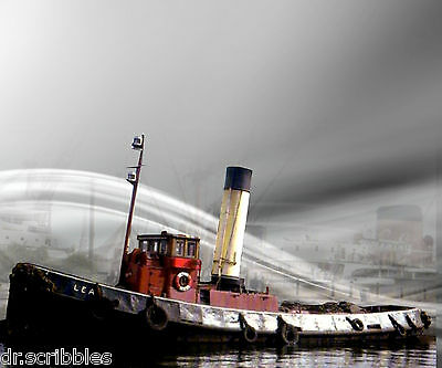 Full Size Printed 1:32 Scale Tug Boat Plan & Article Sutable for Radio Control
