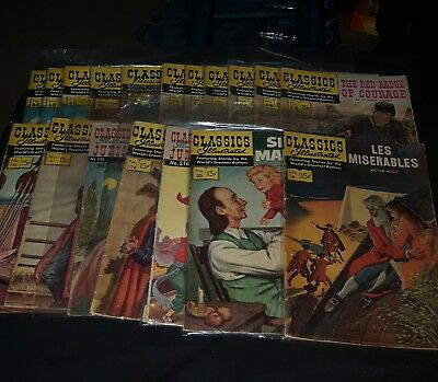 1950s classics illustrated comics lot huge mix lot some duplicates