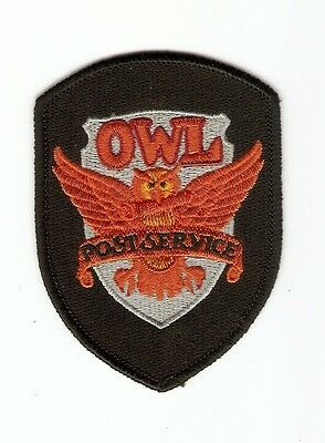+ HARRY POTTER Aufnäher/Patch  Eulenpost Logo Owl Post Service
