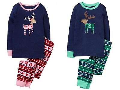 NWT Gymboree U-PICK Fair Isle Reindeer Deer Gymmies Sleep Set PJ NEW Christmas