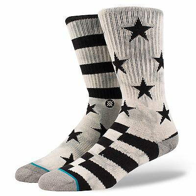 NEW STANCE SOCKS SIDEREAL M526A16SID GRY | GRAY | Men's Large 9-12