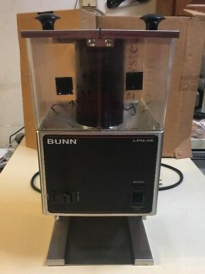Bunn LPG-2E Commercial, Double Hopper Coffee Grinder