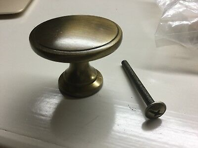 Antique Brass Cabinet/Drawer Knobs - Lot of 13