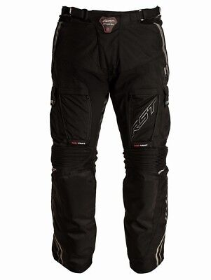 RST Adventure 2 Textile Black Motorcycle Road Motor Bike Adventure Touring Pants