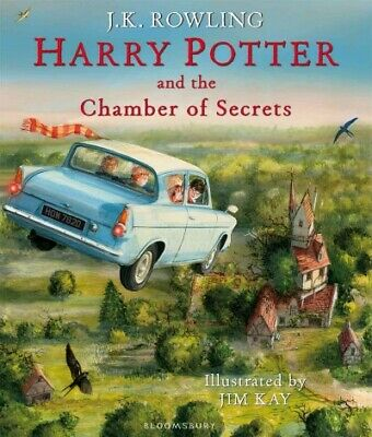 Harry Potter and the Chamber of Secrets : Illustrated Edition, Hardcover by R...