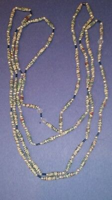 Vintage 2 Strands of TRADING BEADS Necklaces