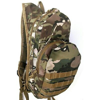 Tas Multicam Hydration Molle Backpack - 900D #free 2Lt Wide Mouth Bladder