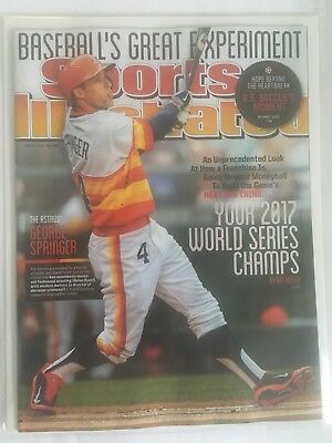 George Springer Astros Sports Illustrated Magazine 6/30/14 World Series NEW