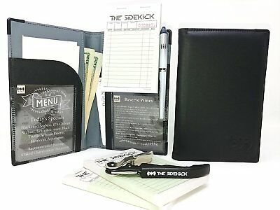 THE Sidekick Server Book SET - INCLUDES A WINEKEY AND 2 ORDERPADS - PREMIUM HAND