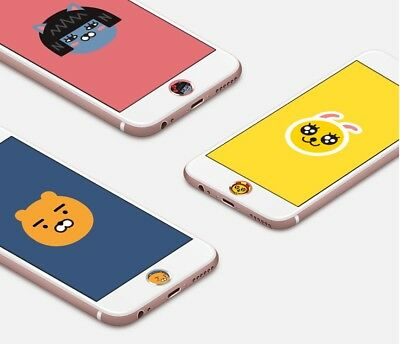 Kakao Friends iPhone Touch ID Home Button Sticker (E-Type) Finger Scan Possible