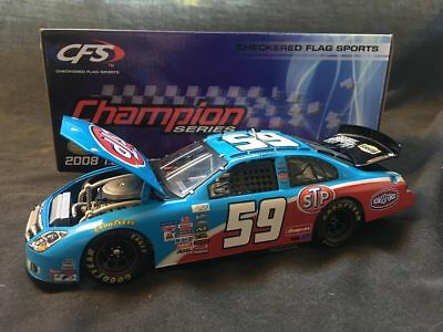 #59 Marcos Ambrose 2008 STP Ford 1:24 NASCAR diecast First Win Car w/ COA