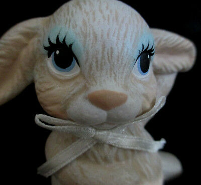 """Delicate Porcelain Figurine Baby Bunny """"Thumper"""" A real Cutie - Only 3 1/2"""" tall"""