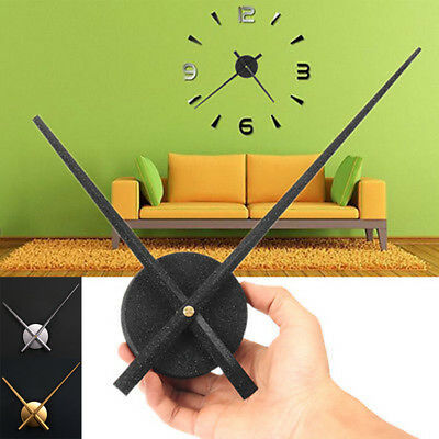 New Long Quiet Hands Quartz Wall Clock Movement Mechanism Motor DIY Repair Kit