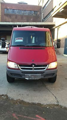 "2006 Dodge Sprinter Work van with shelving 2006 Sprinter Van 88K 144"" Hi-Top 3-Litre I5 Diesel"