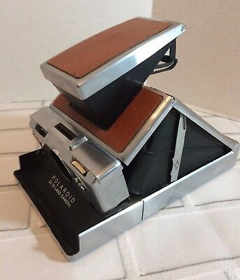 Vintage Polaroid SX 70 Land Camera UNTESTED As Is