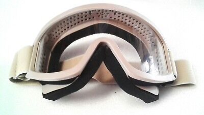 Goggles Military Style Khaki Uv 400 Padded Breathable - Airsoft / Paintball / Bb