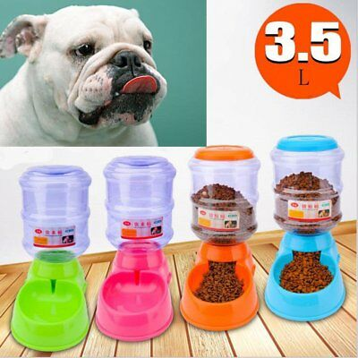 Automatic Pet Feeder Dog Cat Programmable Animal Food Bowl Auto Dispenser New