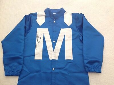 Winx Horse Racing Silks Signed By Hugh Bowman
