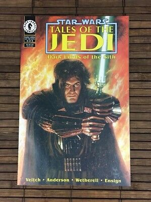 Star Wars Tales of the Jedi: Dark Lords of the Sith #6 comic book