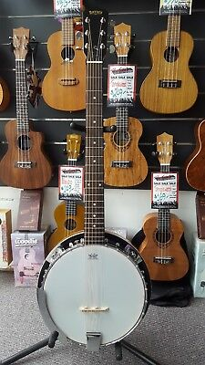 Bryden SBJ624 6 String Banjo Ganjo - Great For Guitarist Wanting to Play Banjo
